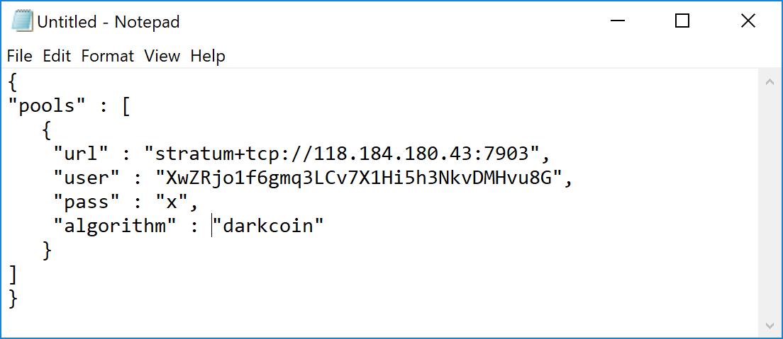 Mining — Dash latest documentation